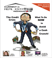 "Cover for first Edition of ""Current in Real Estate Specialty newspaper"